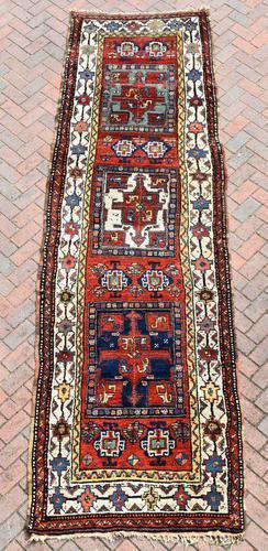 Antique Shassavan long rug 382x126cm (1 of 9)