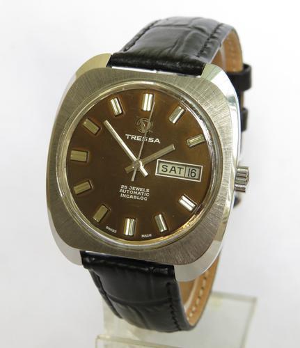 Gents 1970s Tressa Wrist Watch (1 of 5)