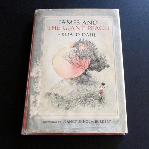 1961  James & The Giant Peach by Roald Dahl  1st American  Edition (1 of 6)