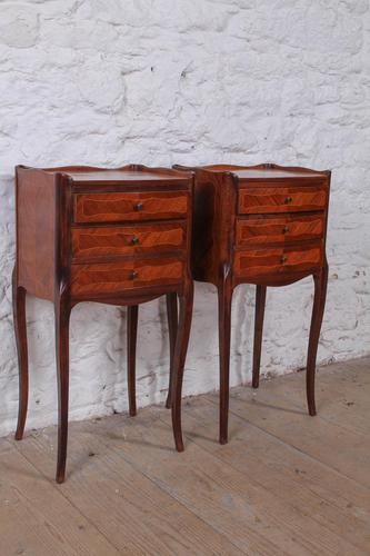 Pretty Pair of French Bedside Cabinets (1 of 5)
