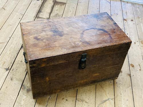 19th Century Oak Tool Chest (1 of 16)