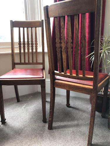 Set of Ten Arts & Crafts Chairs (1 of 1)