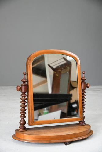 Victorian Mahogany Swing Mirror (1 of 10)