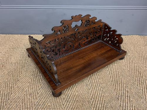 Regency Period Rosewood Book Carrier (1 of 9)