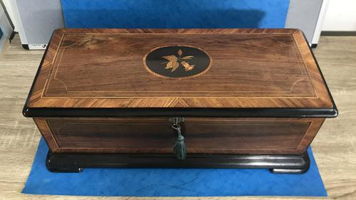 Victorian Rosewood Music Box (1 of 14)