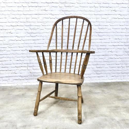 Early Cornish Windsor Armchair (1 of 8)