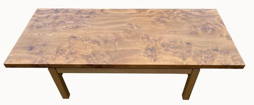 Really Unusual Retro Coffee Table in Burr Elm (1 of 5)