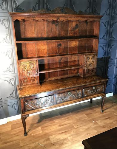 Georgian Oak Dresser (1 of 1)
