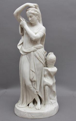 19th Century Parian Figure of a Greek Lady (1 of 7)
