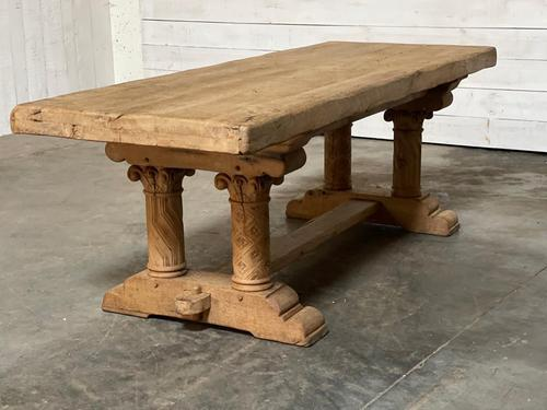 Extremely Rare Large Oak Refectory Table (1 of 35)