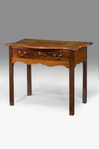 Chippendale Period Mahogany Side Table (1 of 5)