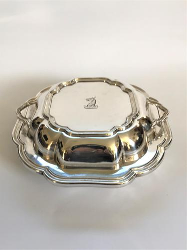 Gorgeous Mid 19th Century Silver Plated Entree Dish (1 of 6)