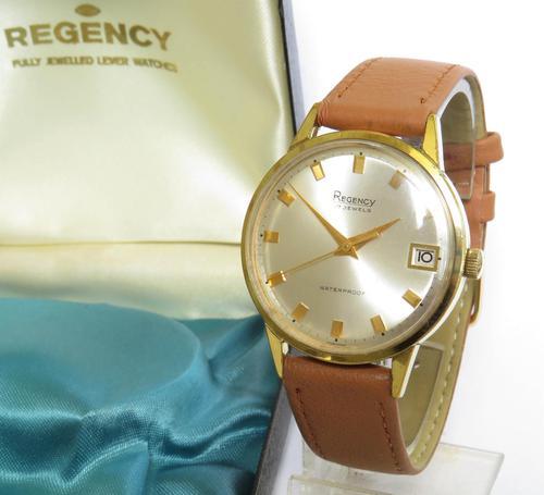 Gents Early 1970s Regency Wrist Watch, Boxed (1 of 5)