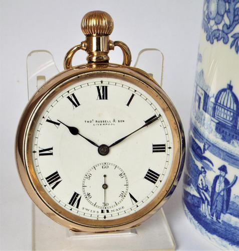 1920s Thomas Russell Pocket Watch (1 of 5)