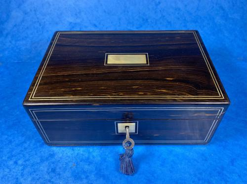 Victorian Coromandel Jewellery Box (1 of 11)