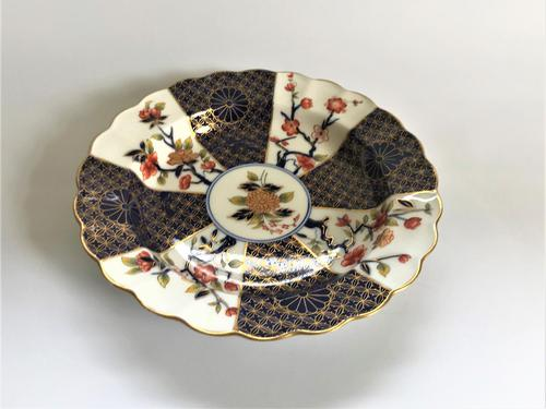 19th Century Royal Worcester 'Imari colours' dish (1 of 5)