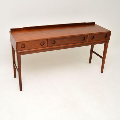 1960's Vintage Mahogany Side Table / Desk (1 of 10)