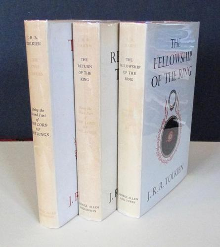 1959 J R R Tolkien  The Lord of the Rings  Trilogy 3 x Volumes (1 of 6)