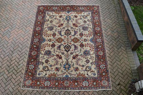 Old Tabriz Roomsize Carpet 355x278cm (1 of 13)