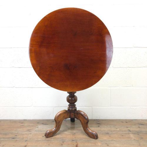 Antique Mahogany Tilt Top Table (1 of 7)