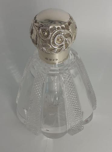 Silver Topped Scent Bottle (1 of 5)
