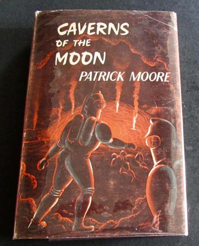 1964 1st Edition Caverns of the Moon by Patrick Moore with Original Dust Jacket (1 of 5)