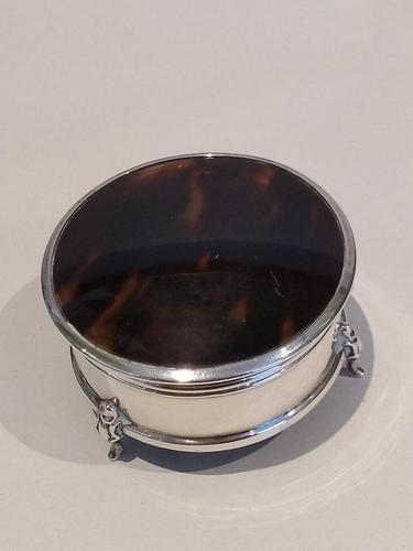 Silver & Tortoiseshell Box (1 of 5)