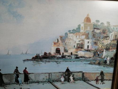 Fine Italian Oil by Eugenio Magno (1 of 7)