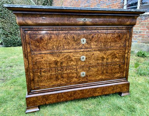 Figured  Louis Philippe Commode (1 of 7)