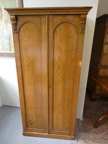 19th Century Painted Pine Cupboard (1 of 12)