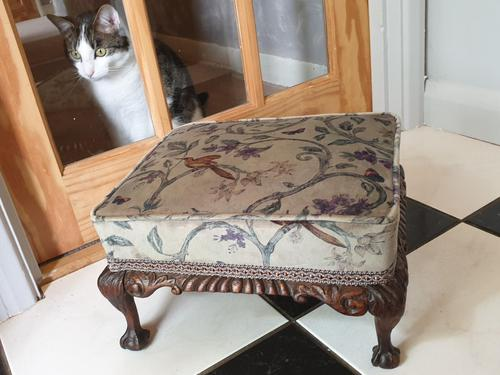 Late 18th/early 19th Century Walnut Footstool (1 of 5)