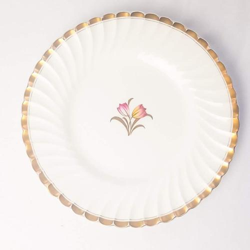Minton England Plate with Tulips to the Centre (1 of 2)