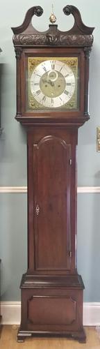 George II Irish Longcase Clock (1 of 11)