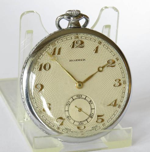 1930s Roamer Pocket Watch (1 of 5)