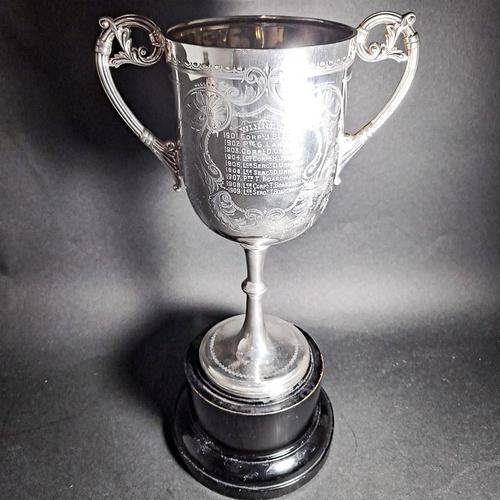 Victorian Silver Twin Handled Trophy (1 of 6)