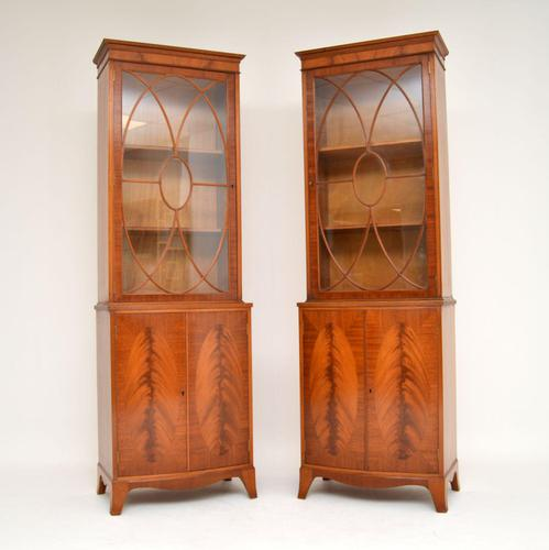 Pair of Antique Mahogany Waring & Gillows Bookcases (1 of 9)
