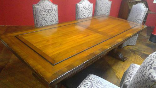 French Cherrywood Dining Table (1 of 4)