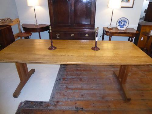 Early 20th Century Oak Table (1 of 6)