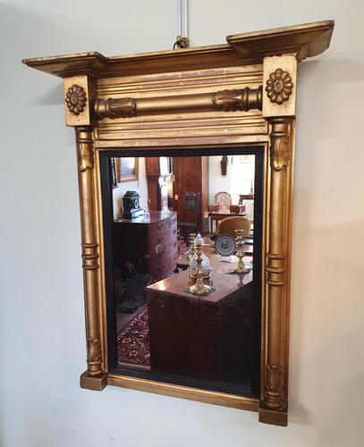 Fine Regency Period Gilt Pier Mirror (1 of 5)