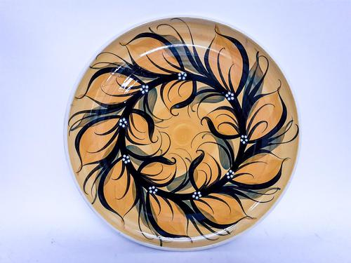 Studio Pottery Plate by Alvingham Pottery (1 of 3)