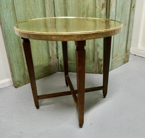 Brass Top Coffee Table or Occasional Table (1 of 5)