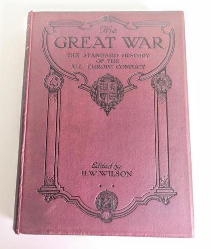 The Great War - The Standard History of the All-Europe Conflict Volume 9 (1 of 12)