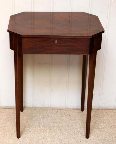 Regency Mahogany Work Table c.1820 (1 of 10)