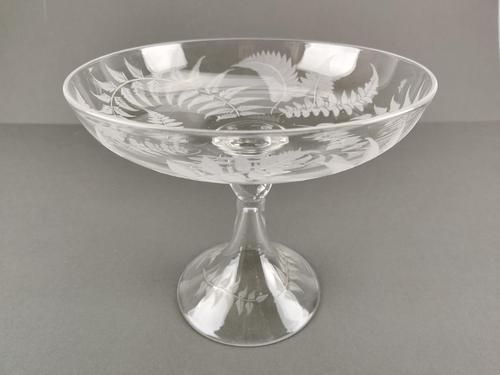 Victorian Glass Comport / Tazza (1 of 6)