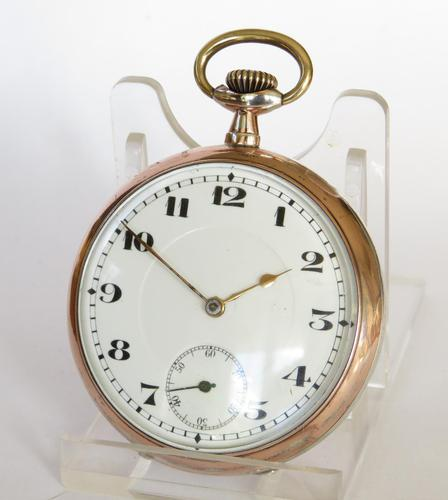 1920s silver pocket watch (1 of 4)