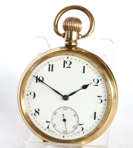 Zenith Prima Pocket Watch, 1919 (1 of 5)