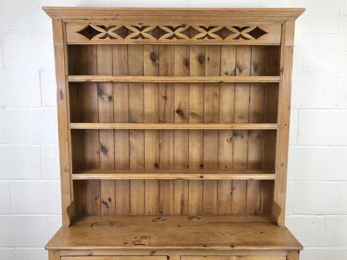 Vintage Pine Welsh Kitchen Dresser (1 of 10)