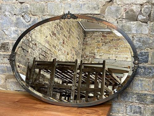 Antique Bronze Mirror (1 of 2)