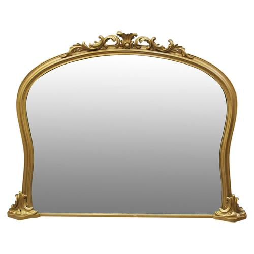 Victorian Giltwood Overmantel Mirror by John Taylor & Son (1 of 13)