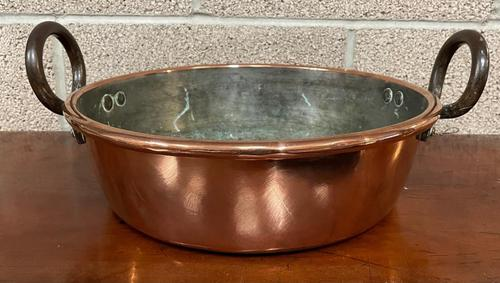 19th Century Copper Preserve Pan (1 of 3)